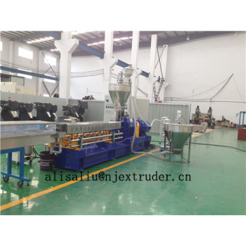62.4mm twin screw extruder line for granules