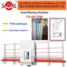 Máquina de jateamento de areia de vidro Sandblast chinês fazendo