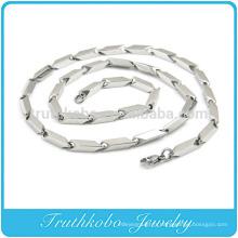 TKB-RN0044 Unique flèche latérale gros collier de bijoux en argent massif, acier inoxydable 316L