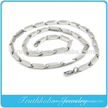 TKB-RN0044 Unique Sideways Arrow Huge heavy Silver Fashion Jewelry 316L Stainless Steel necklace