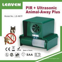 Calidad fiable y eficaz repelente ultrasónico de los animales del jardín lejos