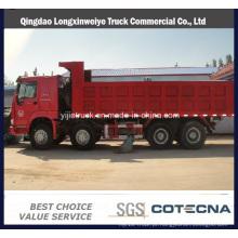 HOWO Marca 8X4 Tipo 50 Ton Dumper Truck