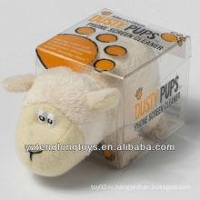 Смешные животных Shaped Screen Cleaner Плюшевые Lamb Screen Cleaner
