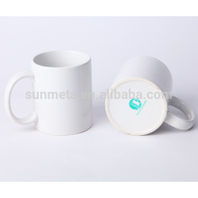 11oz white blank sublimation coated mugs yiwu factory
