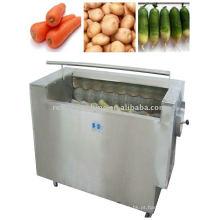 Máquina de descascamento de escova vegetal