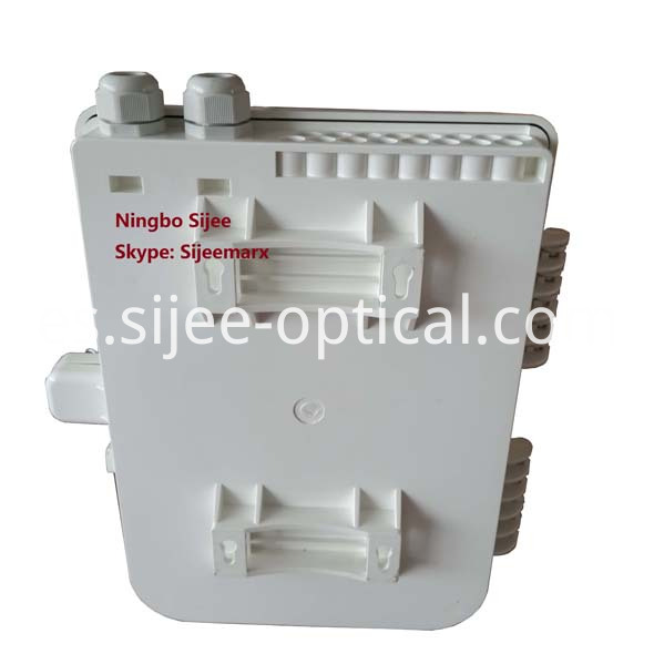 fiber splitter FTTH termination box