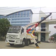 Тележки HOWO 8х4 40 тонн тяжелых восстановления дорожного тележка Кудели вредителя