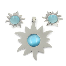 Fashion Accessories Jewellery Silver Stainless Steel Jewelry Set