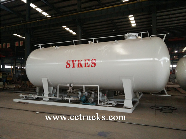5 MT Skid Mounted LPG Tanks