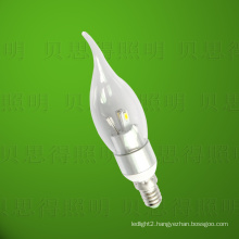 LED Bentend Candle Light 4W