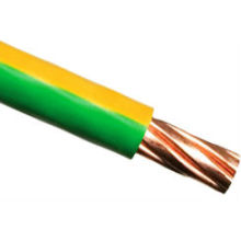 yellow/green electric wire copper conductor1.5 2.5 4 6 10 12 14 1 6 mm2