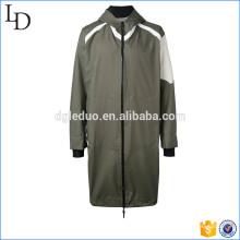 Casaco com capuz casaco longo para homens sobretudo casaco e jaqueta
