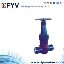 Válvula de compuerta para estación eléctrica Per Asme B16.34