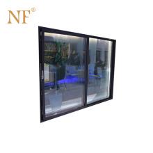 Aluminum luxury partition wall external sliding door
