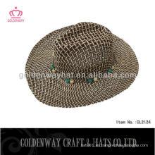 Sombreros de paja de papel marrón sombreros de paja peru