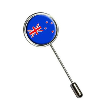 Fesyen New Zealand Flag Stick Hat Hat Kerongsang Pin