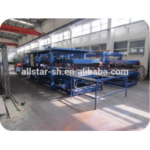 25mm-200mm thick eps metal sandwich panel production line
