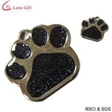 Vente chaude Glitter émail Tags pour animaux de compagnie (LM1623)