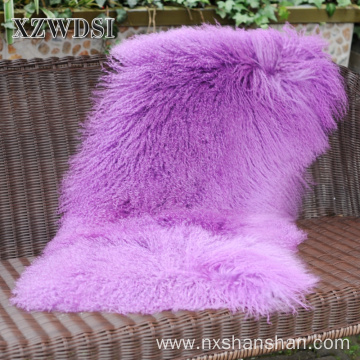 Size Can be Customize Mongolian Sheep Fur Blanket