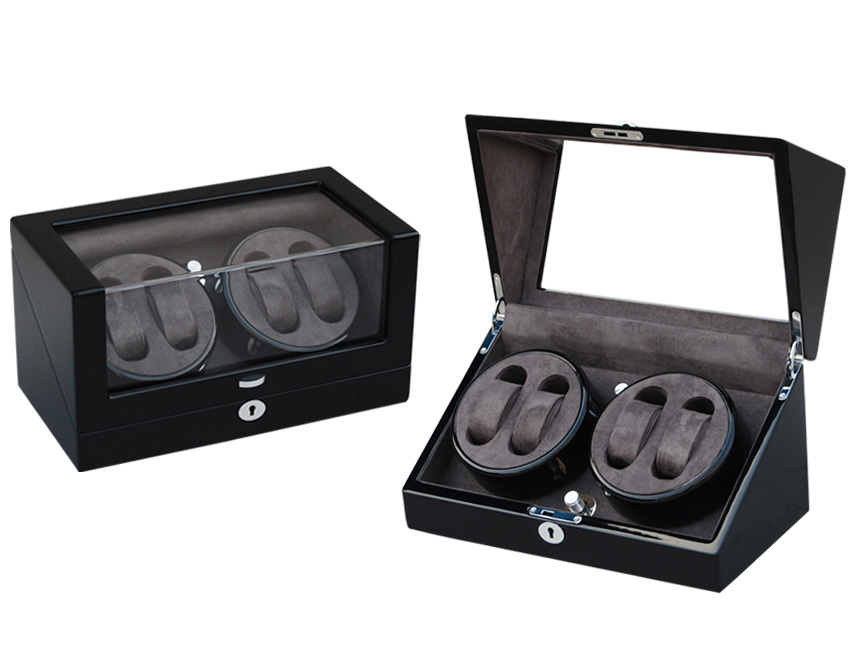 Ww 8125 Black Double Rotors Watch Winder