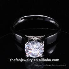 recién llegados 2018 joyería de moda anillo cz anillo de bodas