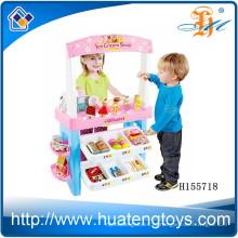 Новый многофункциональный набор для игры в супермаркет, дети притворяются игровыми приставками на рынке со сканером H155718