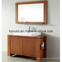 Современная деревянная мебель для ванной (БА-1133)