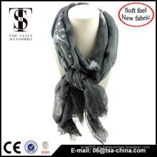 Producto de alta calidad en material mezclado bufanda oversize señora