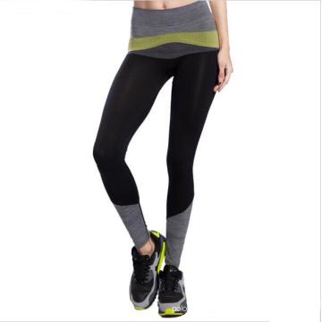2016 Nuevas Mujeres de la Llegada Pantalones de Yoga de Alta Elástico de Moda Pantalones Deportivos Profesionales de Fitness Mujeres Running Pantalones Leggings