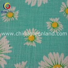 45%Cotton 55%Linen Fabric for Printed Textile Dress Garment (GLLML138)