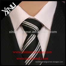 Perfect Knot Stripe Woven Polyester Tie for Men