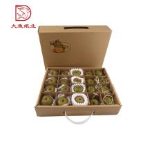 Made in China novo design descartável fruta exibição embalagem pequena caixa de papelão