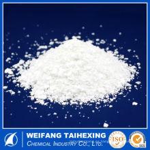 Grado indstrial blanco Flake dihidratado Cloruro de calcio 77% min