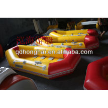 PVC inflatable boat fishing boat Wood plywood