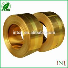 tira de la aleación de cobre cuzn33 H68