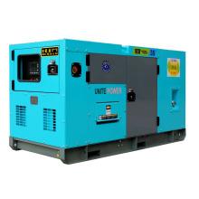 Generador silencioso de 150kVA con motor Wandi
