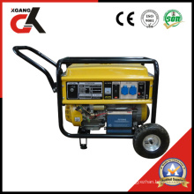 5kw Gasoline Generator Set with Handle and 8′ Wheel