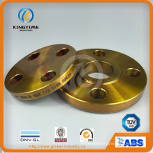 A105 So Flange Forged Flange with Yellow Coating (KT0056))