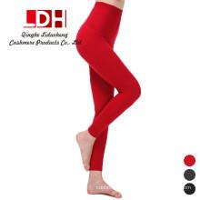 Mulheres Calças de Cashmere Calças de malha Femininas de inverno Leggings de lã Ladies Warm Standard Pant
