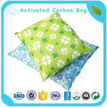 Para remover o saco de carbono ativado por cheiro peculiar