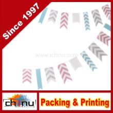 Ginger Ray Chevron Bunting Hanging Party Dekoration - Chevron Divine (420025)
