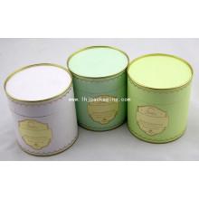 Embalagem de alta qualidade Embalagem Caixa de papel para alimentos com estampagem de folhas