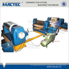 high speed auto metal embossing machine for steel coil