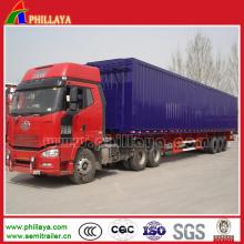 China Yangzhou Cimc Manufacture Van Cargo Enclosed Trailer