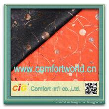 Último estilo china ningbo fuente de poliéster tela de algodón del telar jacquar del textil por mayor de moda