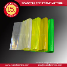 100% PVC prismatic reflective PVC sheet