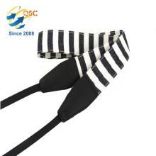 Le soutien en plastique de caméra d'accessoires boucle le coton et la courroie d'appareil-photo de bande d'unité centrale