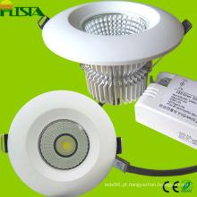 7W 9W 18W COB LED luz com CE, RoHS aprovados