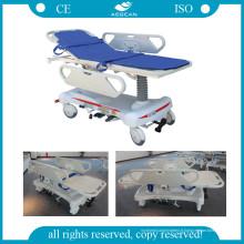 AG-HS008-1 Civière de transport d'hôpital de chariot d'endoscope