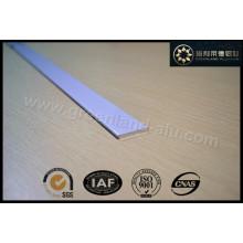 Aluminium Profile for Roman Blind Bottom Rail White Color Flat 25X3mm Gl3011